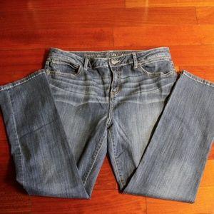 Simply Vera Vera Wang Roll Cuff Capri Jeans